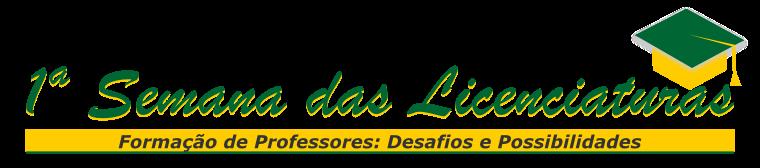 1ª Semana das Licenciaturas da UFABC - Logotipo